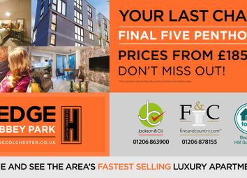 Thumbnail 2 bed flat for sale in The Edge, Colchester, Essex