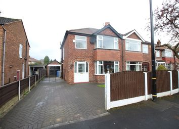 Thumbnail 3 bed semi-detached house for sale in Arnesby Avenue, Sale