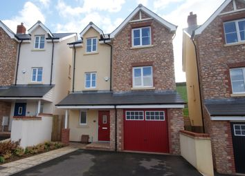 Thumbnail 4 bed town house for sale in Charles Road, Kingskerswell, Newton Abbot