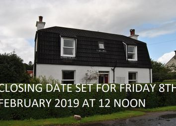 Thumbnail 2 bed detached house for sale in Taynuilt, Argyll