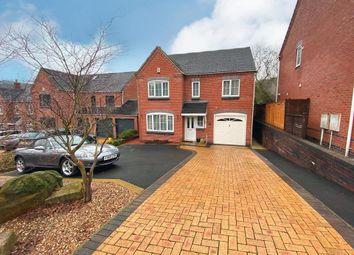 Moorlands Road, Ambergate, Belper DE56. 4 bed detached house for sale