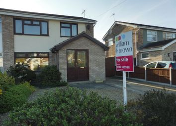 Thumbnail 3 bed semi-detached house for sale in Cavendish Close, Lowestoft