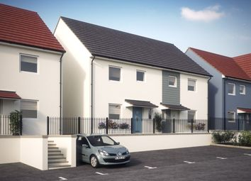 Thumbnail 3 bedroom semi-detached house for sale in Chaucer Way, Plymouth