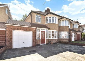 Thumbnail 3 bed semi-detached house for sale in Southbourne Close, Pinner, Middlesex