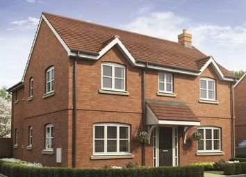 "Thumbnail 4 bed detached house for sale in ""The Foxford"" at Snowberry Lane, Wellesbourne, Warwick"