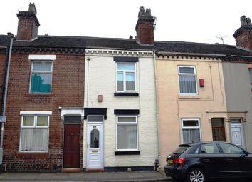 Thumbnail 2 bed terraced house for sale in Selwyn Street, Stoke, Stoke-On-Trent