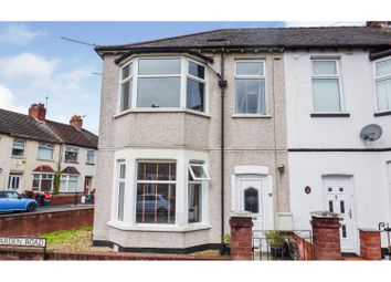 Thumbnail 3 bed end terrace house for sale in Hawarden Road, Newport