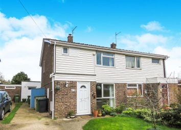 Thumbnail 4 bed semi-detached house to rent in Ermine Way, Sawtry, Huntingdon