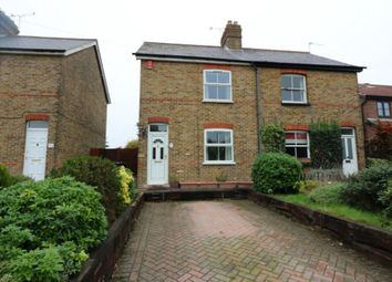Thumbnail 2 bed semi-detached house for sale in Bond Street, Englefield Green