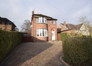 Thumbnail 3 bed detached house for sale in Willson Road, Littleover, Derby