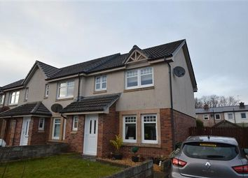 Thumbnail 3 bed end terrace house for sale in Rye Drive, Barmulloch, Glasgow
