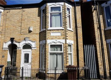 Thumbnail 4 bedroom terraced house for sale in Hardy Street, Hull