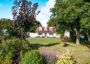 Thumbnail 3 bedroom chalet for sale in Fornham Road, Great Barton, Bury St. Edmunds