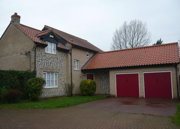 Thumbnail 4 bedroom detached house to rent in Normandy Close, Northwold, Thetford
