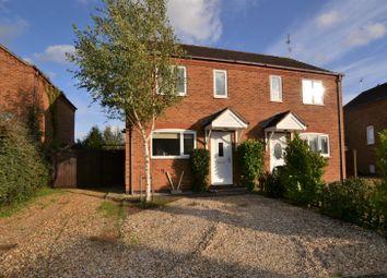 Thumbnail 2 bed semi-detached house for sale in Stanton Road, Dersingham, King's Lynn