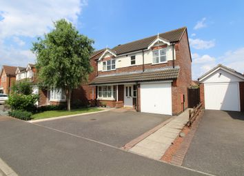 Thumbnail 4 bed detached house for sale in Westminster Gardens, Peterborough
