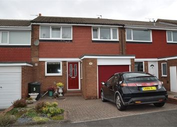 Thumbnail 3 bed terraced house for sale in Dorchester Close, Chapel House, Newcastle Upon Tyne.