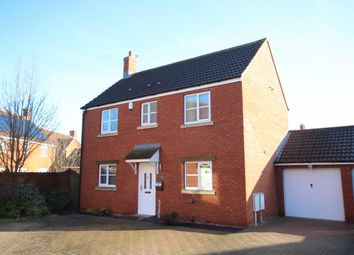 Thumbnail 3 bed detached house for sale in Bowline Close, Bridgwater