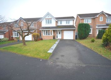 Thumbnail 4 bed detached house for sale in Powburn Close, Chester Le Street