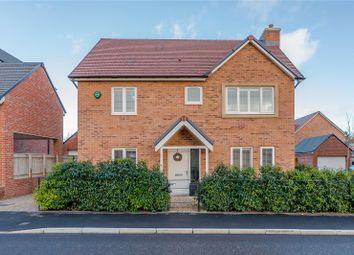 Thumbnail 4 bed detached house for sale in Cheviot Way, St. Mary Park, Morpeth, Northumberland