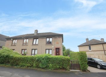Thumbnail 2 bed flat for sale in Pitlochry Drive, Glasgow