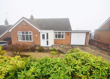 Thumbnail 2 bed detached bungalow for sale in Axon Crescent, Weston Coyney, Stoke-On-Trent
