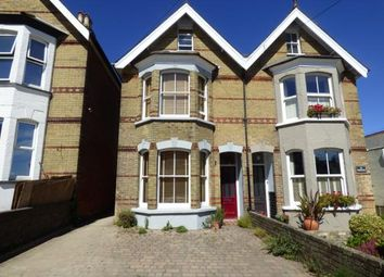 Thumbnail 4 bedroom semi-detached house for sale in Mill Hill Road, Cowes