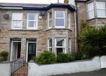 Thumbnail 3 bed terraced house to rent in Castle Road, Penzance