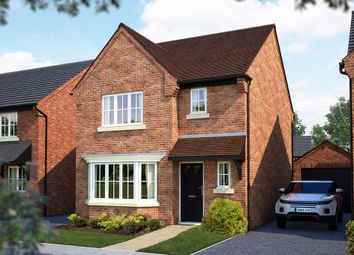 "Thumbnail 3 bed semi-detached house for sale in ""The Horton"" at Burton Road, Streethay, Lichfield"