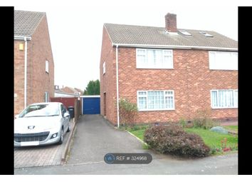 Thumbnail 3 bedroom semi-detached house to rent in Trelawney Road, Exhall