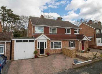 Thumbnail 3 bed semi-detached house for sale in Beaufort Road, Church Crookham, Fleet