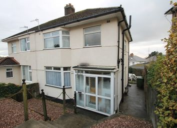 Thumbnail 3 bedroom semi-detached house for sale in Hanover Close, Efford Lane, Plymouth