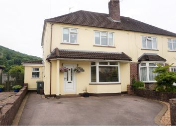 Thumbnail 3 bedroom semi-detached house for sale in Heol Berry, Gwealod Y Garth