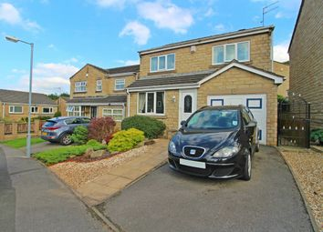 Thumbnail 4 bedroom detached house for sale in Warneford Road, Cowlersley, Huddersfield