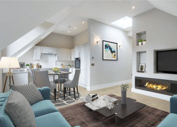 Thumbnail 3 bed flat for sale in Riddlesdown Road, Purley