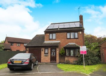 Thumbnail 3 bed detached house for sale in Bunting Close, Mickleover, Derby