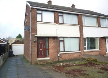 Thumbnail 3 bed semi-detached house to rent in Carnhill Road, Newtownabbey