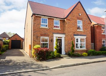 Thumbnail 4 bed detached house for sale in Snowley Park, Peterborough