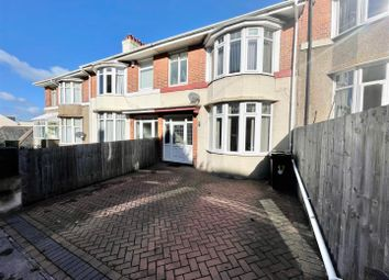 Thumbnail 4 bed terraced house for sale in Queens Road, Lipson, Plymouth