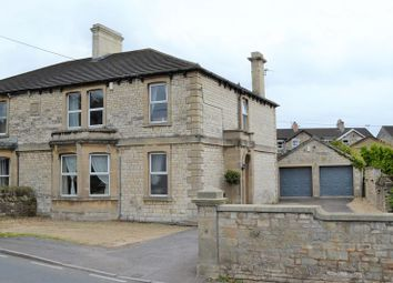 Thumbnail 4 bed semi-detached house for sale in Frome Road, Writhlington, Radstock