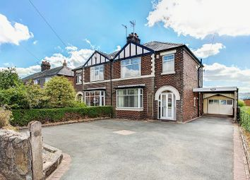 Thumbnail 3 bed semi-detached house for sale in Waggs Road, Congleton