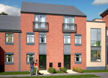 Thumbnail 4 bed town house for sale in The Dawlish - Plot 413, Johnsons Wharf, Leek Road, Hanley, Stoke On Trent