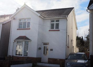 Thumbnail 3 bedroom detached house for sale in Vicarage Road, Morriston