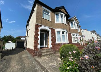 Thumbnail 3 bed semi-detached house for sale in New Road, Rumney, Cardiff.