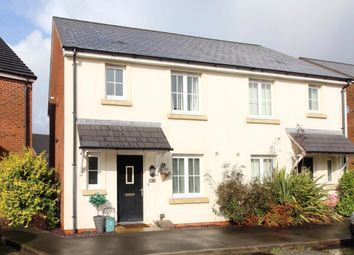 Thumbnail 3 bed semi-detached house for sale in Vaughan Crescent, Pontarddulais, Swansea