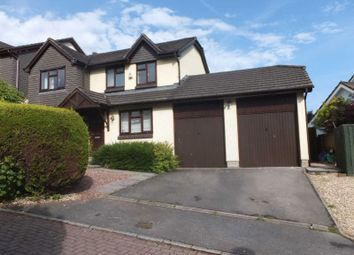 Thumbnail 4 bed detached house for sale in Church Meadow, Okehampton