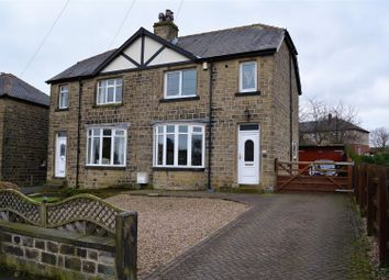 Thumbnail 3 bedroom semi-detached house for sale in Hillside Crescent, Huddersfield