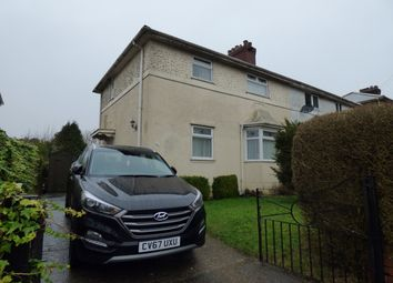 Thumbnail 3 bed semi-detached house for sale in Maes Y Gruffydd Road, Sketty, Swansea