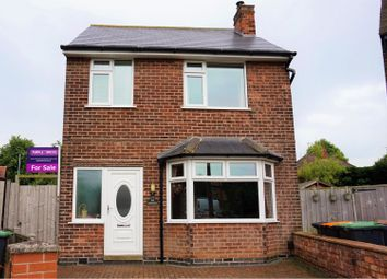 Thumbnail 3 bed detached house for sale in Charles Avenue, Chilwell