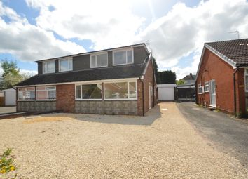 Thumbnail 3 bed bungalow for sale in Balmoral Drive, Hednesford Cannock